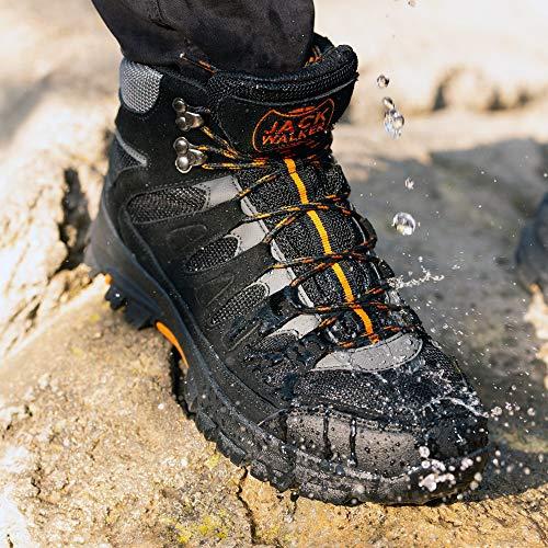 Jack Walker Bottes de Marche imperméables légères et Respirantes Chaussures pour la randonnée et Les Trek JW9255 4