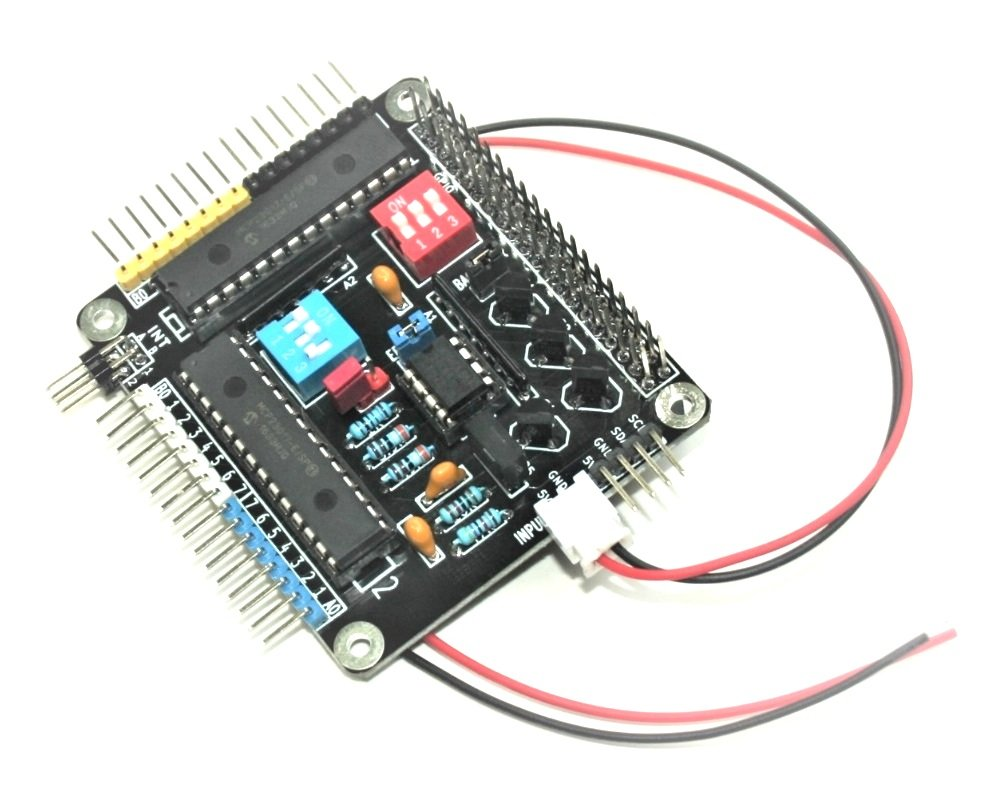 Raspberry Pi HAT - 32 I/O Port Expander - MCP23017 - I2C