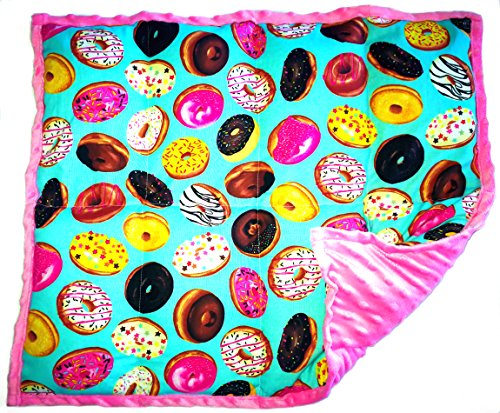 Cheap ReachTherapy Solutions))) Weighted Lap Pad for Kids - Portable Lap Blanket for School | 5 lbs -Doughnuts | Click to See More Colors & Sizes Black Friday & Cyber Monday 2019