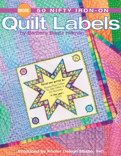 More 50 Nifty IronOn Quilt Labels  Leisure Arts #4397