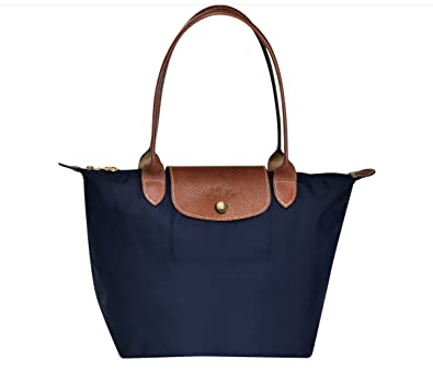 LONGCHAMP Le Pliage Small Tote Bag Navy 2605089 556: Amazon