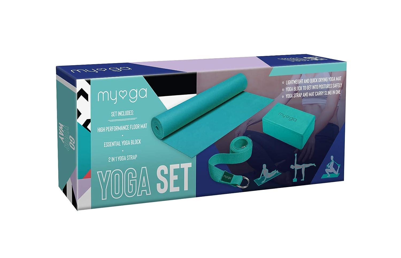 Myga - Kit de iniciación para Yoga: Amazon.es: Deportes y ...