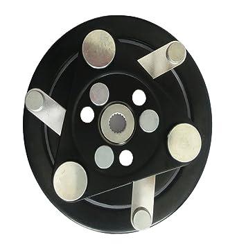 wisepick a/c Compresor AC Embrague Hub 10 Pa Serie frontal placa para santen: Amazon.es: Coche y moto