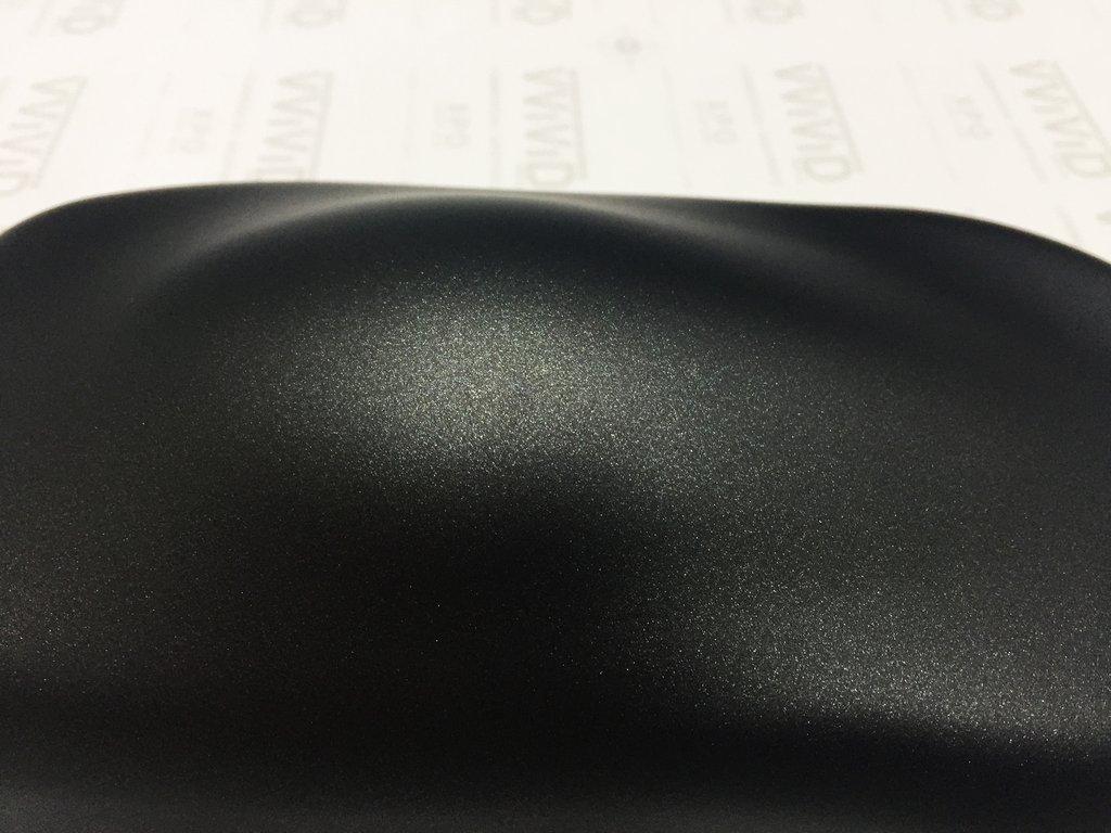 VViViD+ Matte Metallic Black Vinyl Wrap (6ft x 5ft) by VViViD (Image #9)