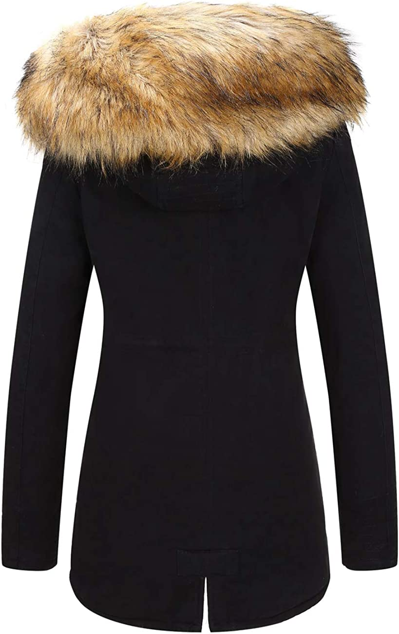 Womens Parka Jacket With Fur