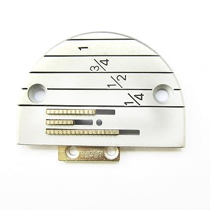 KUNPENG - PLACA Y máquina de coser diente DE AGUJA - para YAMATA FY5318 ARTISAN 797
