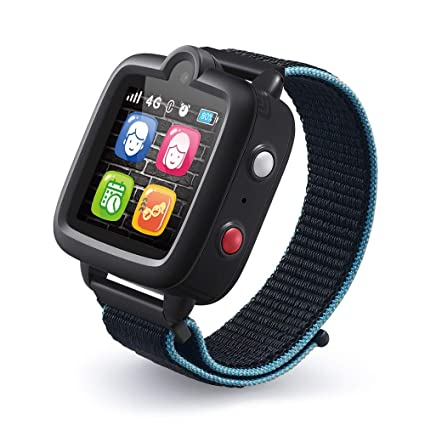 TickTalk 3 Unlocked 4G Universal Kids Smart Watch Phone with GPS Tracker, Combines Video, Voice and Wi-Fi Calling, Messaging, Camera, IP67 ...