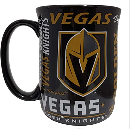 15oz  Relief Cup New LOT OF 2 VEGAS GOLDEN KNIGHTS Coffee Mugs