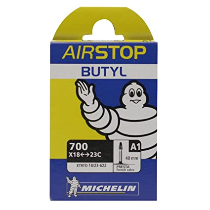 700X18-25 Presta 40mm Michelin Camera D/'aria A1 Airstop 18//23X622