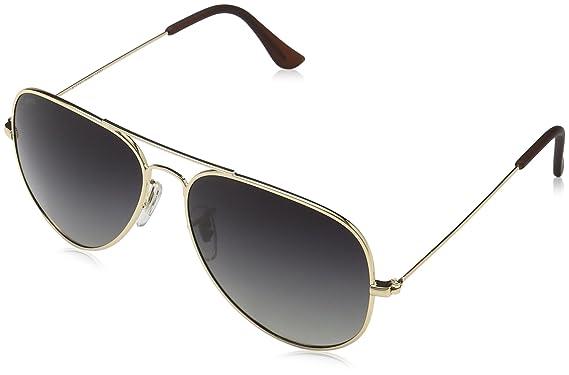 MSTRDS Unisex Sonnenbrille Pureav, Gold (Gold/Grey 5158), One size (Herstellergröße: one size)