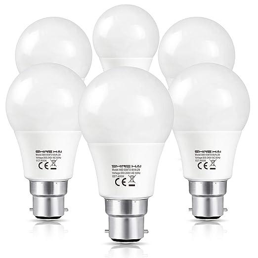 Shine Hai Ampoule Led B22 A60 Equivalent 60w A Ampoule