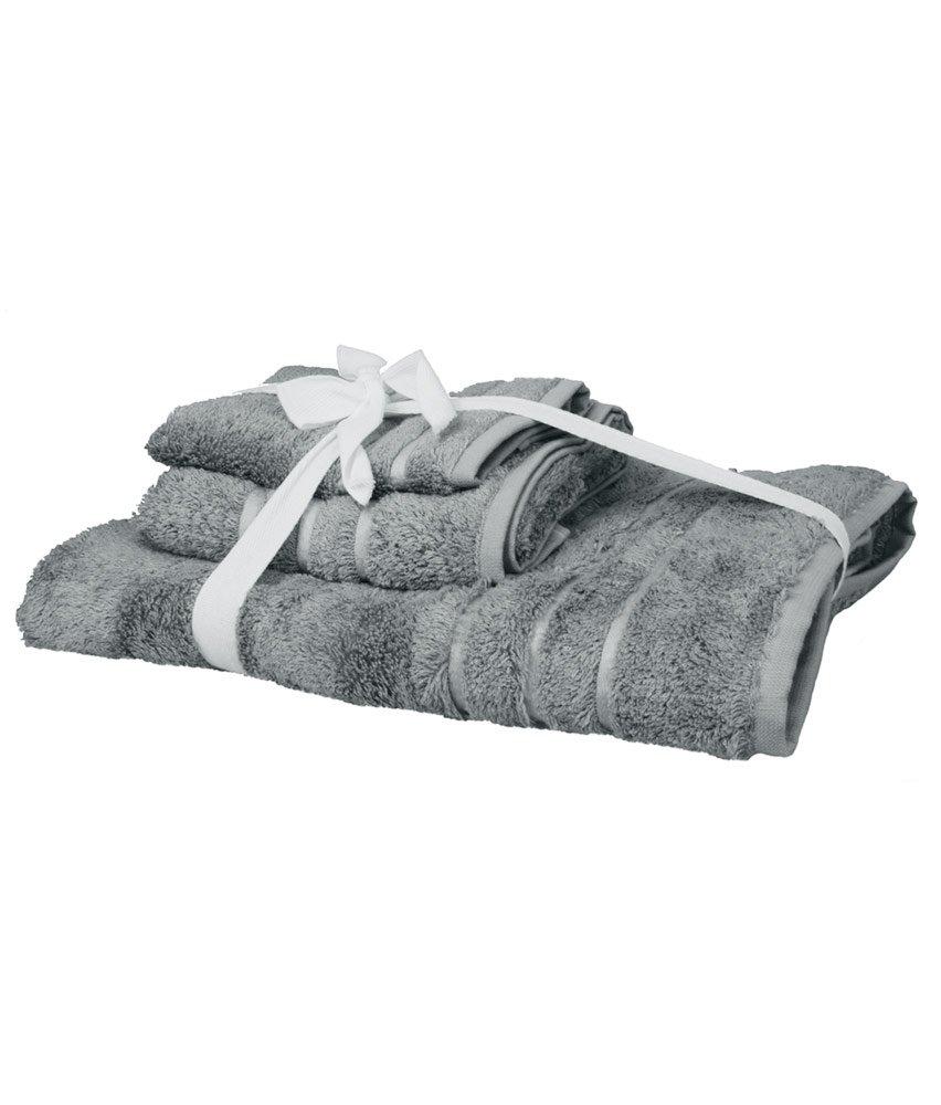 Cariloha Crazy suave de bambú 3 piezas Juego de toallas - olor resistente - Absorbe la Humedad - Toalla de baño, toalla de manos y manopla: Amazon.es: Hogar