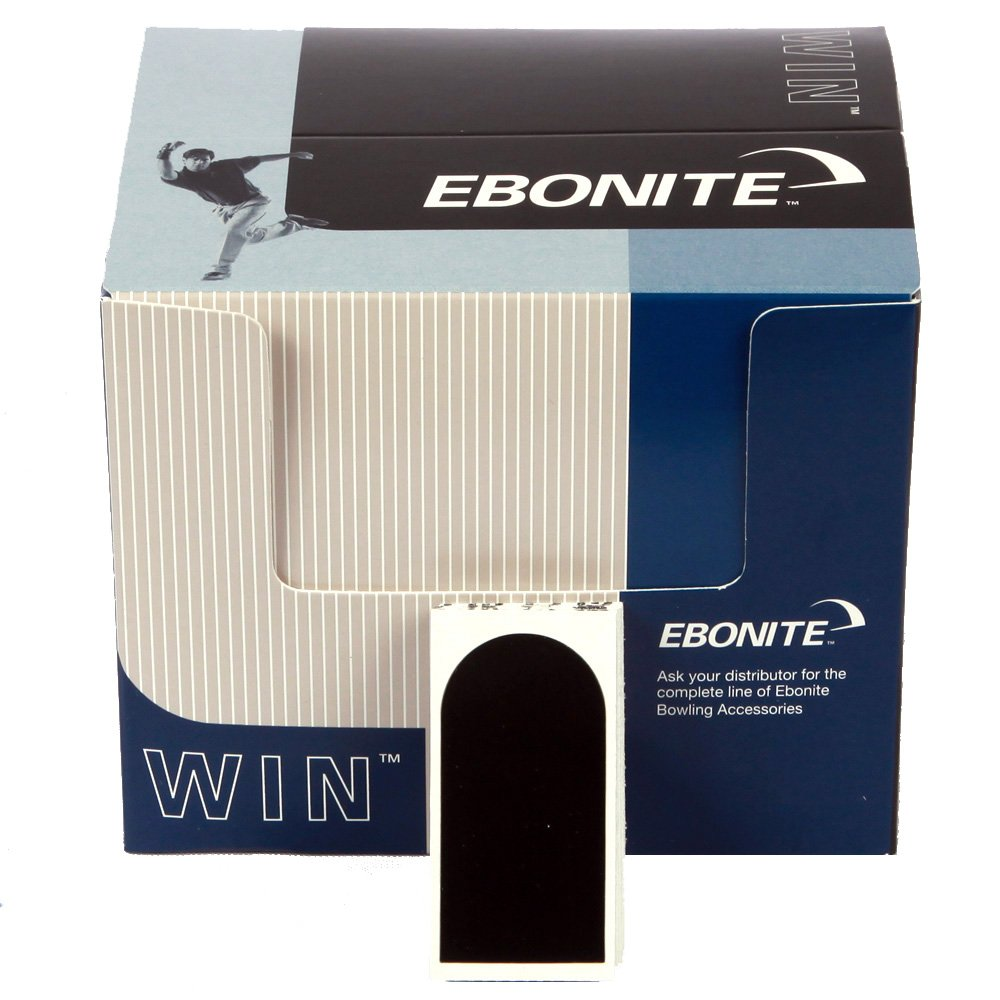 Ebonite Ultra-Grip Tape 1'' Smooth Black (30 pieces per package) by Ebonite