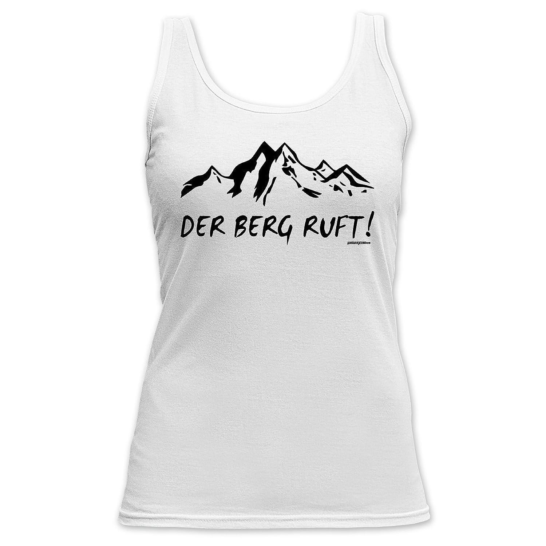 Tank Top Damenshirt Damen Apres Ski Funshirt lustiger Aufdruck Girlie Girl cool Berg
