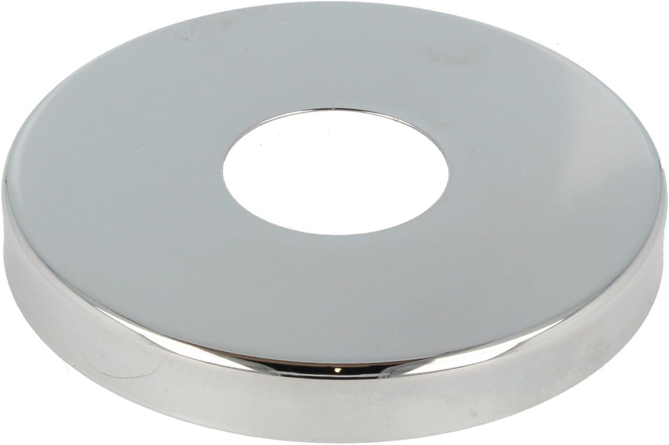 tecuro DESIGN-Hahnrosette bronze 3//4 Ø 27 mm x Ø 72 mm