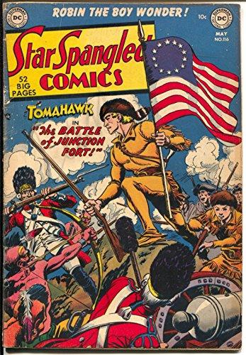 Atomic Compass - Star Spangled #116 1951-DC-Tomahawk-Robin-Capt Compass-Atomic explosion-VG