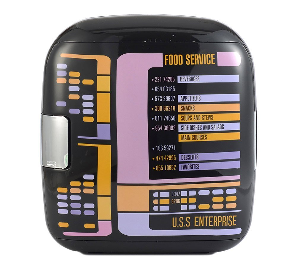 Star Trek The Next Generation TNG 7L Liter Thermoelectric Cooler ...