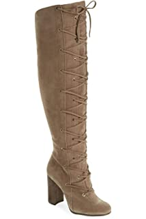 7.5 M US Dkbrown 02 Vince Camuto Womens Vc-Emilian Knee High Boot