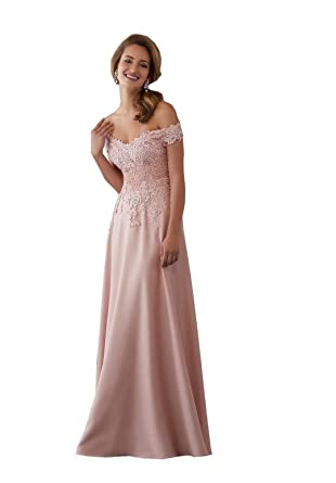 42977a43b72 Lovely Romana Women s Off Shoulder Beaded Evening Gowns Lace Appliques Long  Formal Prom Dresses Plus Size at Amazon Women s Clothing store