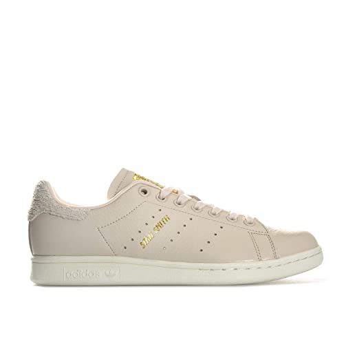 adidas Women's Stan Smith W Fitness Shoes, Beige Flax/Casbla ...