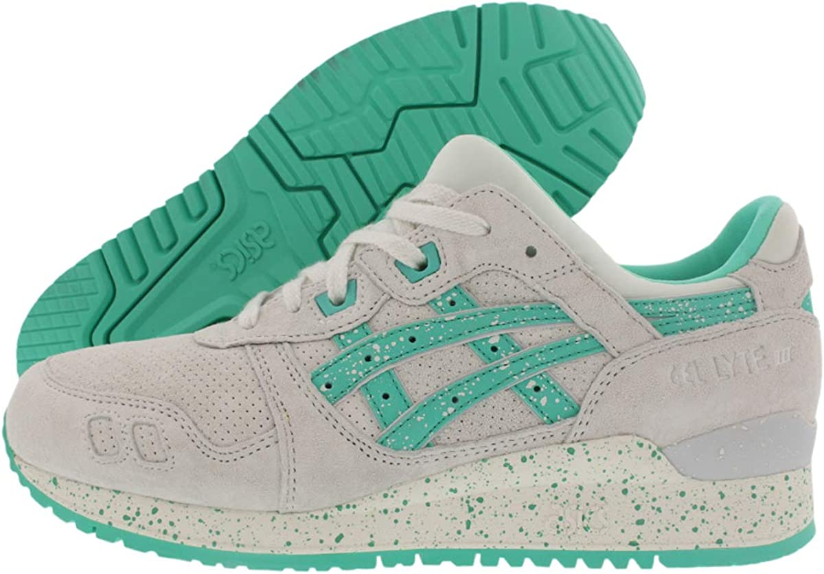 Popa cocinar Caso Wardian  Asics Gel-Lyte III Maldives Pack Mens White Leather Lace Up Trainers Shoes:  Amazon.co.uk: Shoes & Bags