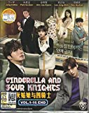 CINDERELLA AND FOUR KNIGHTS - COMPLETE KOREAN TV SERIES ( 1-16 EPISODES ) DVD BOX SETS