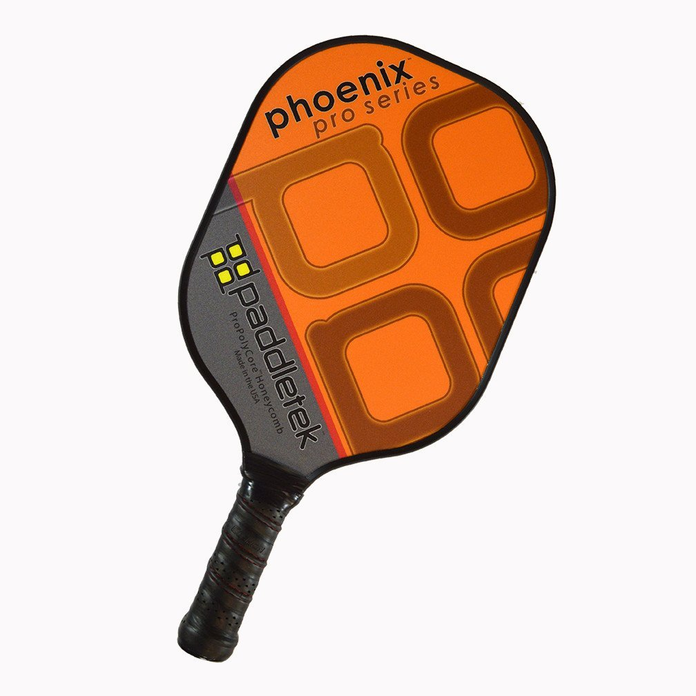 Paddletek Phoenix Pro Pickleball Paddle, Orange