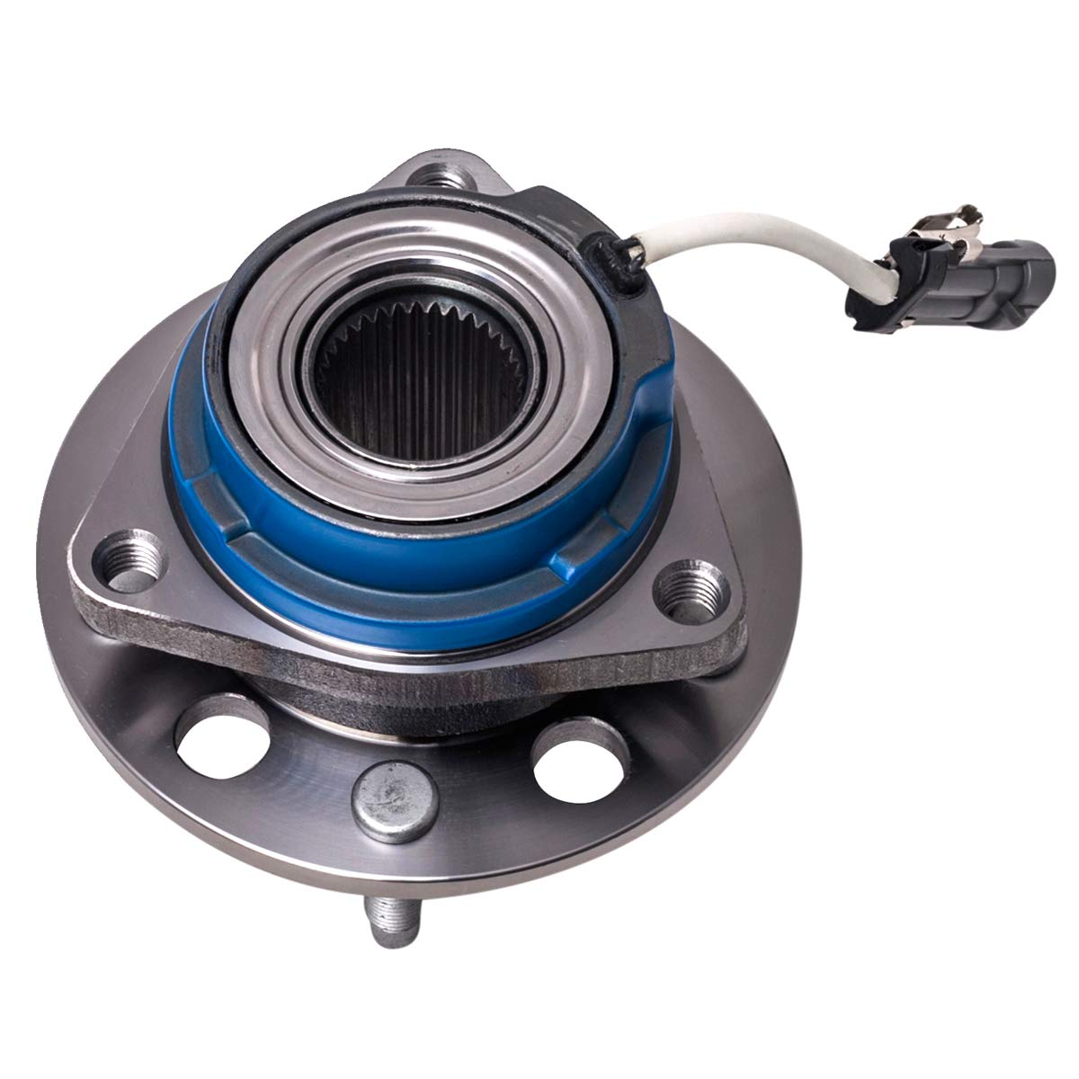 Front Rear Wheel Hub and Bearing Assembly Left or Right Compatible Allure Aurora Bonnevile Century Impala AUQDD 513121 5 Lug W//ABS