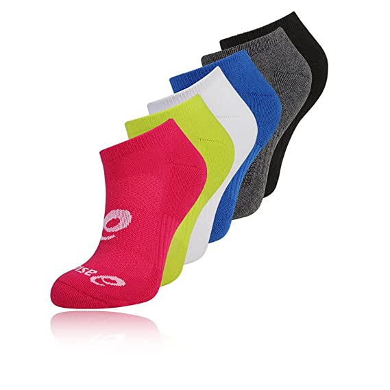 Asics 6 Pack Invisible Calcetines - SS18: Amazon.es: Deportes y aire libre