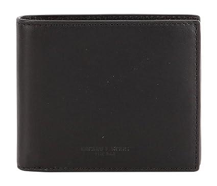 958ee231461626 Michael Kors Mens Odin Leather Wallet Black: Amazon.co.uk: Clothing