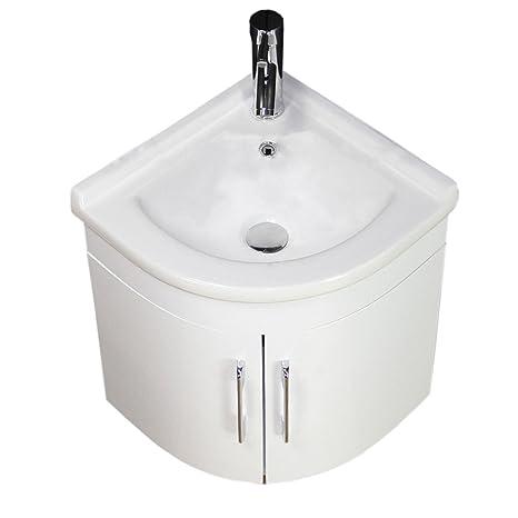 Mueble Lavabo Esquinero.Lavabo Mueble De Bano Armario De Esquina Soporte De Pared