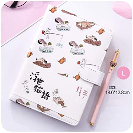 YNIME Cuaderno Kawaii Notebook Planer bullet journal Semanal ...