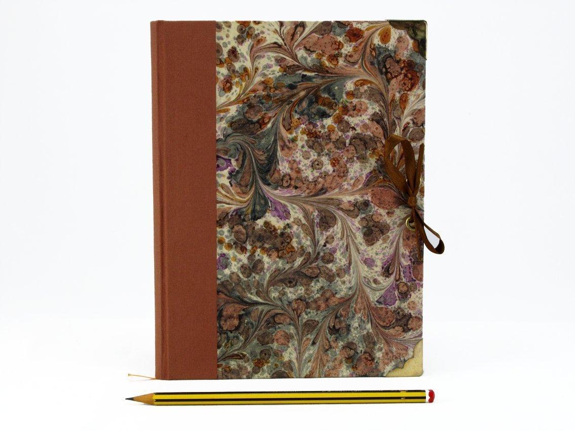 Libro para escribir papel blanco, cierre con Lazo (Medidas