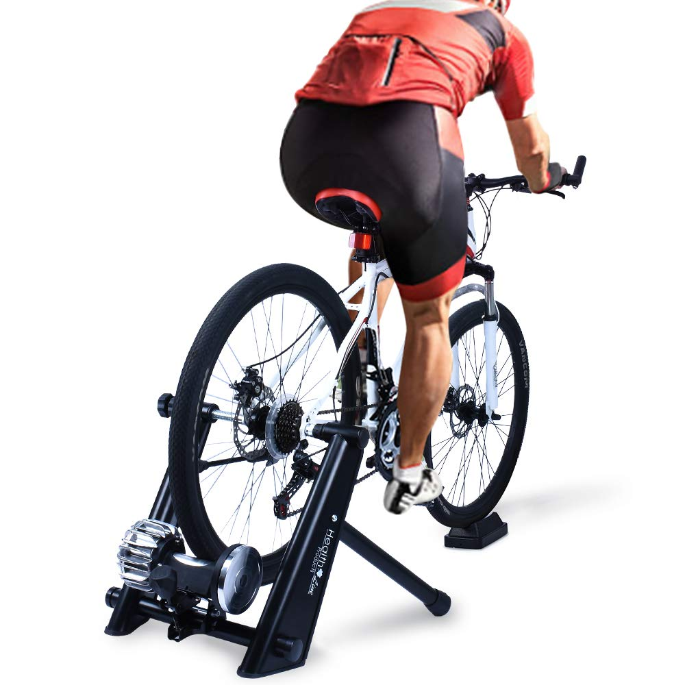 Fluid Bike Trainer >> Fluid Bike Trainer Stand Indoor Fluid Bicycle Exercise Trainer W Quiet Real Road Feel Flywheel Supports 370lbs Portable Cycling Stand W Sweat Guard