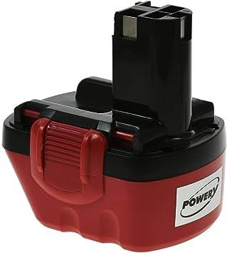 Batería para Bosch Taladro PSR 1200 NiMH 3000mAh O-Pack, 12V, NiMH: Amazon.es: Bricolaje y herramientas