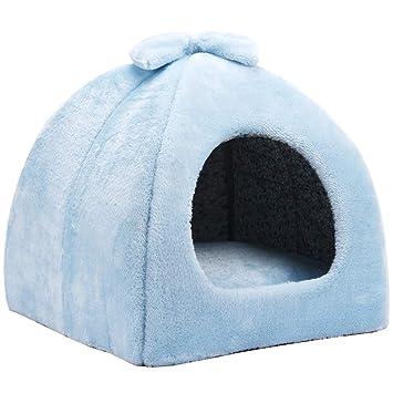 Nido para Mascotas, Tela Oxford + algodón PP sueño Profundo Gato/Perro Mongolian House/Sofa, 2 Colores / 3 tamaños: Amazon.es: Hogar