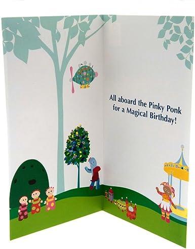 In The Night Garden El jardín de los sueños - Tarjeta de cumpleaños Special Little Boy (Talla Única) (Multicolor): Amazon.es: Ropa y accesorios