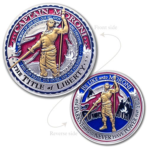 (Armor Coin Captain Moroni LDS Collectible Medallion)