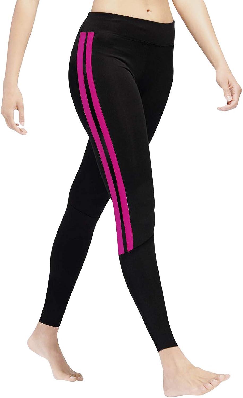 GoVIA Leggins para Damas Pantalones Deportivos Largos para Training Running Yoga Fitness Transpirables con Cintura Alta 4138