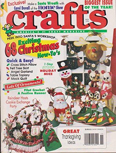 - Crafts: America's #1 Craft Magazine (November 1993, Volume 16, No. 11)