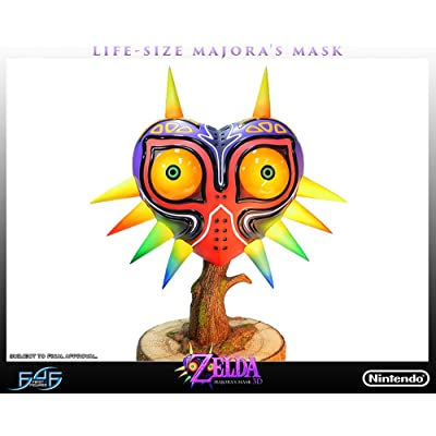 First 4 Figures The Legend of Zelda: Majora's Mask Life-Sized Replica Statue: Toys & Games