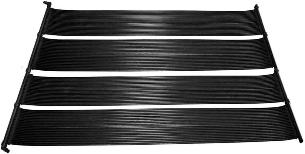 yorten 2 pzas Panel Solar/Calentador para Piscina Calentador de Agua 620 x 75 cm