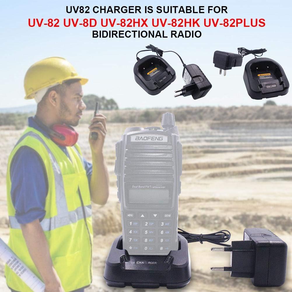 Amazon.com: Zagot UV82 Charger, for UV-82 UV-8D UV-82HX UV ...