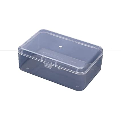 Amazon Com Transparent Plastic Storage Box Clear Square