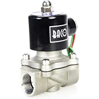 "BACOENG AC220V 3/4"" válvula de solenoide eléctrica Acero"