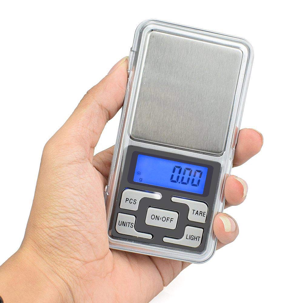 MiLanNuo Digital Scale 200g x 0.1g Jewelry Gold Silver Coin Grain Gram Pocket Size Herb