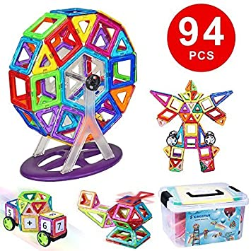 Amazon.com: Kingstar imán juguete bloque magnético juguete ...