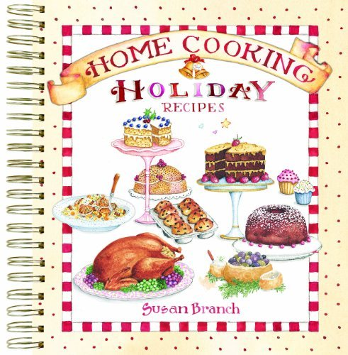 Home Cooking Holiday Recipes Keepsake Collection by Susan Branch (2012-08-01)
