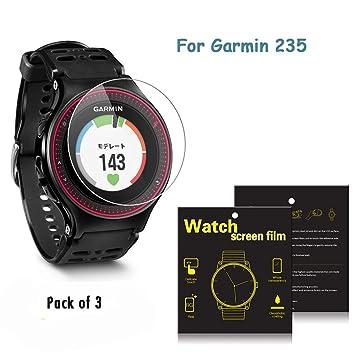 3 Protectores de pantallapara relojes Garmin Forerunner 235GPS de la marca iFeeker