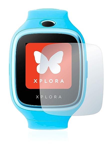 BROTECT Protector Pantalla Cristal Compatible con Xplora 3S - Vidrio 9H, AirGlass